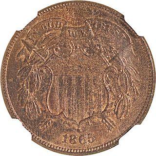 U.S. 1865 2C COIN