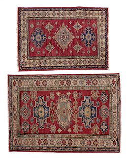 Two Persian scatter rugs