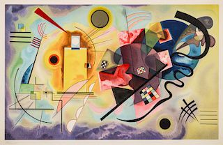After Wassily Kandinsky (1866-1944) Lithograph