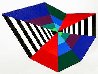 """Opy Zouni (1941-2008) """"Kite #3 Painting"""