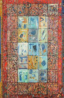 """Abdullatif Al-Smoudi (1948-2005) """" Rhythms of an Ancient Life"""""""