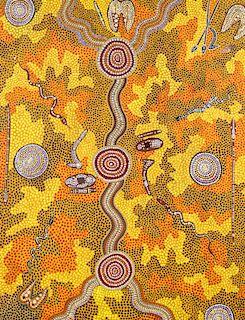 Wenton Rubuntja (Australia, 1926-2005) Aboriginal Painting