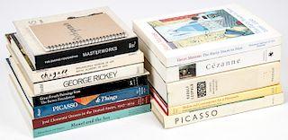 Estate Lot of Fine Art Books