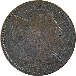 U.S. 1794 LIBERTY CAP 1C COINS