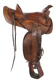 Colorado Saddlery Custom Made Western Saddle by North