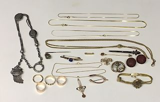14KT GOLD & GOLD FILLED JEWELRY