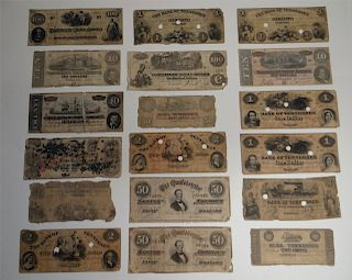 GROUP OF PAPER CURRENCY  & NOTES FROM TENNESSEE