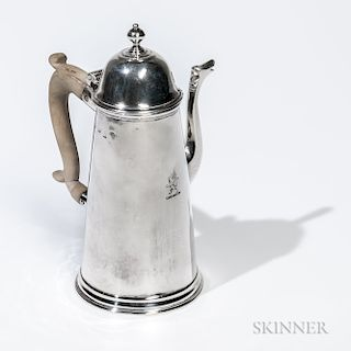 George I Sterling Silver Coffeepot