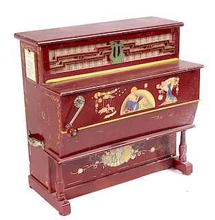 ROLLER ORGAN #728 MUSIC BOX