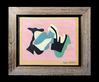 Esphyr Slobodkina (1908-2002) Abstract Painting