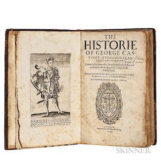 Barleti, Marin (c. 1460-1512 or 1513) The Historie of George Castriot, Surnamed Scanderbeg, King of Albanie.