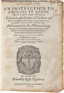Coignet, Matthieu, sieur de La Thuillerie (1514-1586) Politique Discourses upon Trueth and Lying.