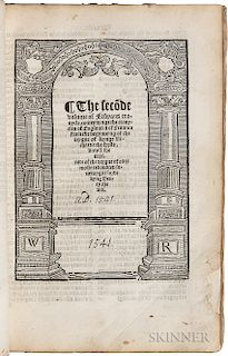 Fabyan, Robert (d. 1513) Chronicle.