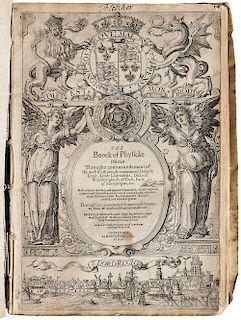 Gabelkover, Oswald (1539-1616) The Boock of Physicke.