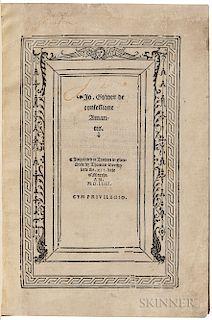 Gower, John (1325?-1408) De Confessione Amantis.