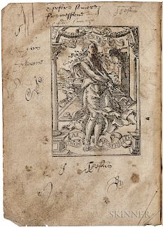 Lanquet, Thomas (1521-1545) An Epitome of Cronicles.