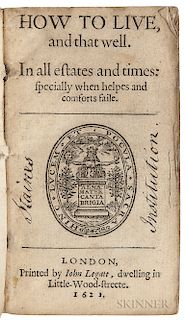 Perkins, William (1558-1602) Six Titles Bound Together