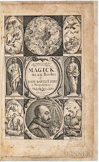 Porta, Giambattista della (1535?-1615) Natural Magick.