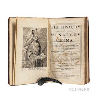 Semedo, Alvarez (1585-1658) History of the Great and Renowned Monarchy of China.