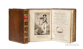 Stedman, John Gabriel (1744-1797) Narrative of a Five Years Expedition against the Revolted Negroes of Surinam.