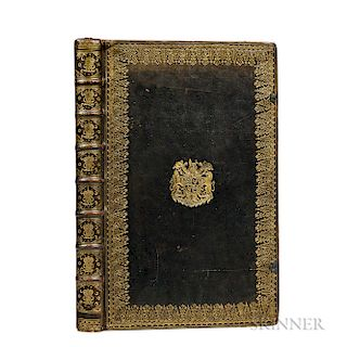 The Book of Common Prayer  , in a Royal Binding.