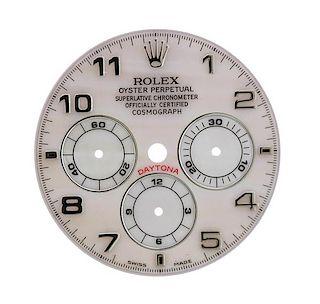 Rolex Daytona Cosmograph MOP Watch Dial 16518