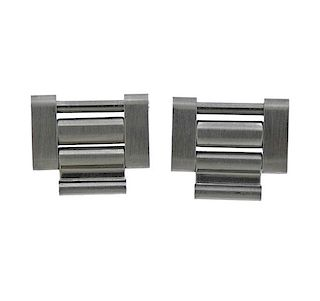 Rolex Watch Stainless Steel Bracelet Links 3pc