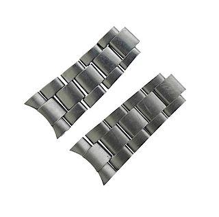 Rolex Watch Stainless Steel Bracelet End Links 592