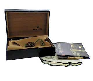 Rolex Watch Box w. Pouch Booklets 68.00.55
