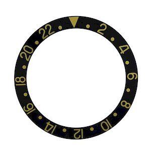 Rolex Black Watch Bezel Insert 16713