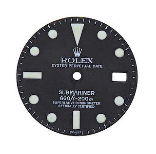 Rolex Submariner Date Black Watch Dial