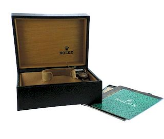 Rolex Oyster Watch Box w. Booklet 64.00.01