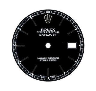 Rolex Datejust Date Watch  Black Dial