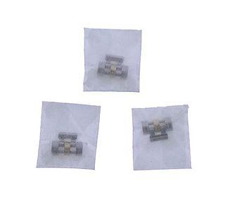 Rolex Watch Two Tone Bracelet Links 3pc