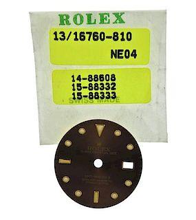 Rolex GMT Master II Date Watch Dial 16760