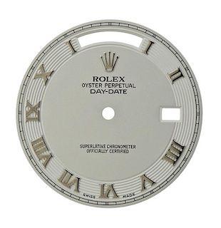 Rolex President Day Date Roman Watch Dial