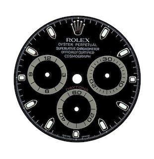 Rolex Daytona Cosmograph Watch Black  Dial