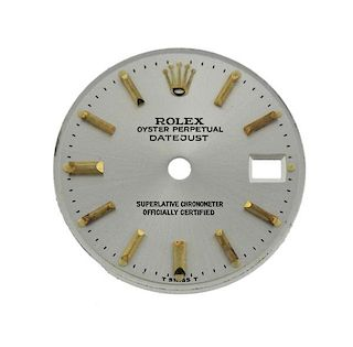 Rolex Oyster Datejust Watch Dial