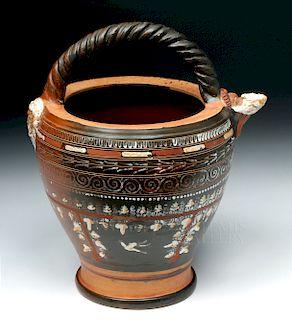 Greek Gnathian Situla Toledo Painter ex-Christie's, TL
