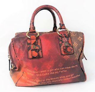 Louis Vuitton Richard Prince Mancrazy Jokes Bag