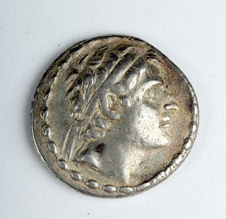 Silver Antiochos III Tetradrachm - 16.9 G