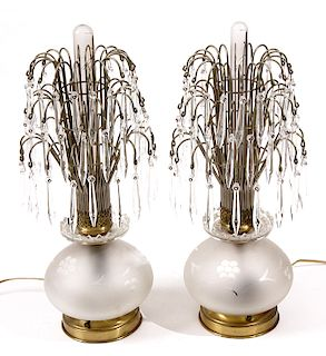 Electric Luster Lamps