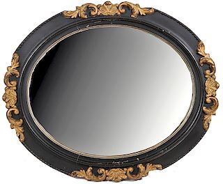Two Oval Mirrors