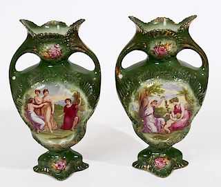 Pair of China Vases