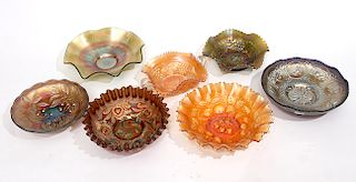 Carnival Glass Lot