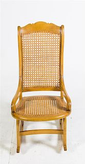 * An American Wood Rocking Chair Height 37 1/2 inches.