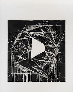 * Mel Bochner, (American, b. 1940), White Island, 1985