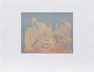 * Mark Tobey, (American, 1890-1976), Awakening Dawn, 1974