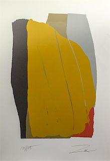 * Larry Zox, (American, 1937-2006), Odon II, 1981