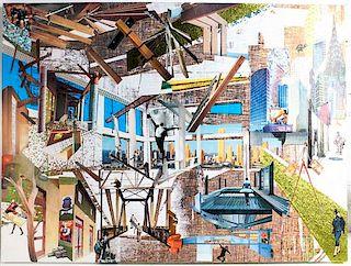 * HOBO (Holly Moe/Barbara Miller), (20th century), Cityscape, 2007